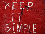aa slogan keep it simple